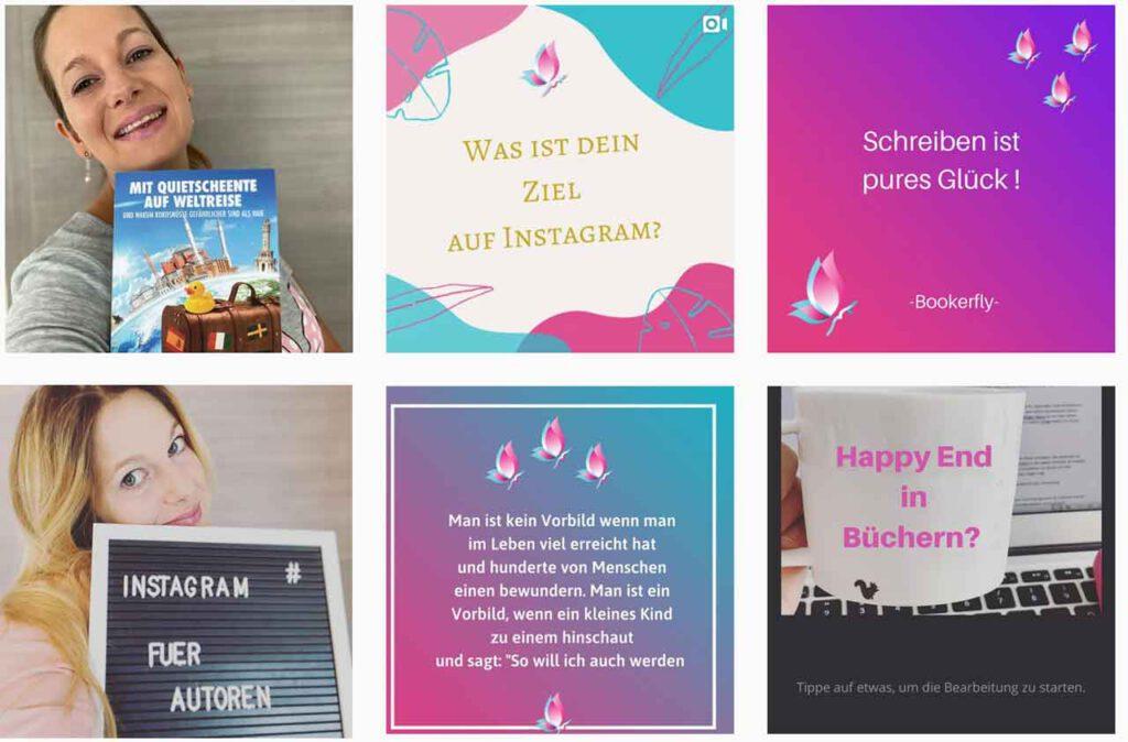 Instagram für Autoren um Buch zu vermarkten